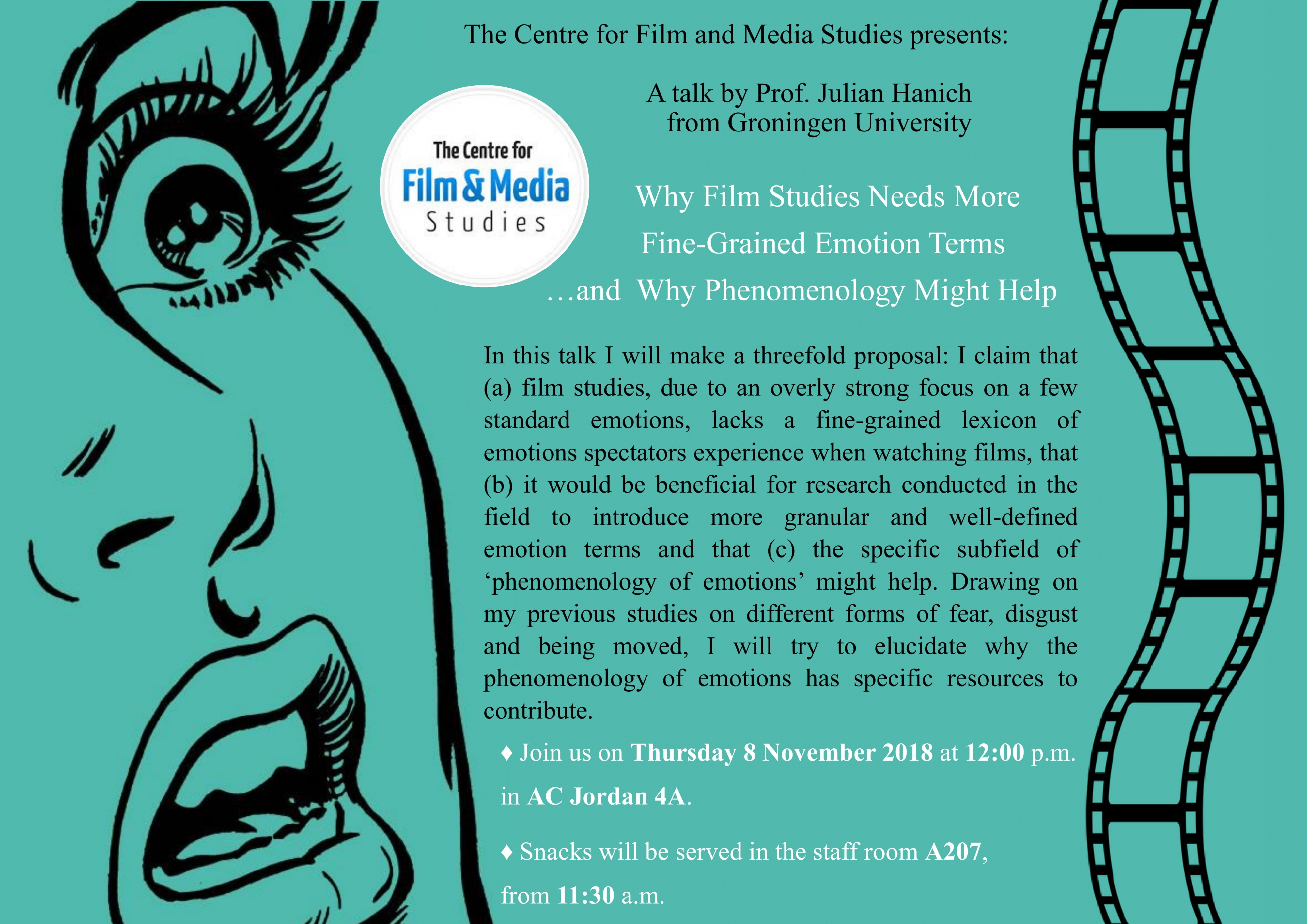 Seminar Why Films Studies Needs More Fine Grained Emotions Terms